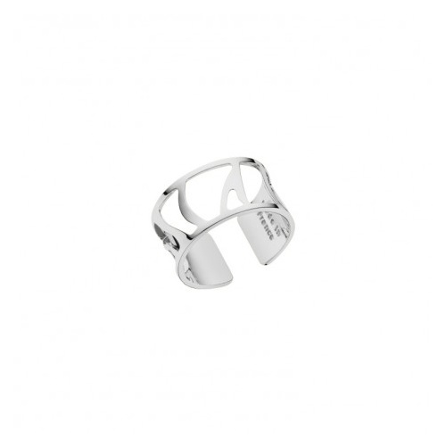 LES GEORGETTES PERROQUET RING – SILVER – 12mm SIZE SMALL (52)