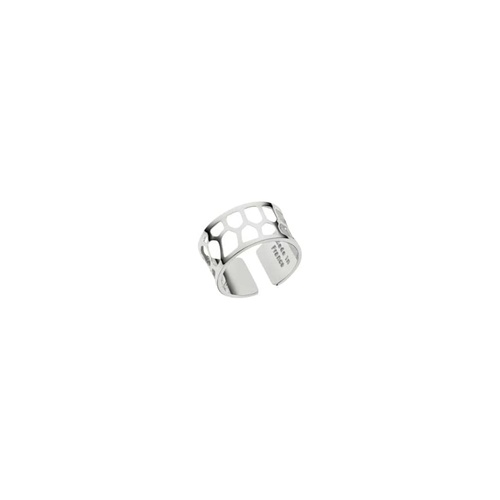 LES GEORGETTES NID D'ABEILLE RING – SILVER – 12mm SIZE SMALL (52)