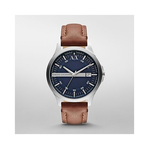 MENS ARMANI EXCHANGE HAMPTON DARK BROWN
