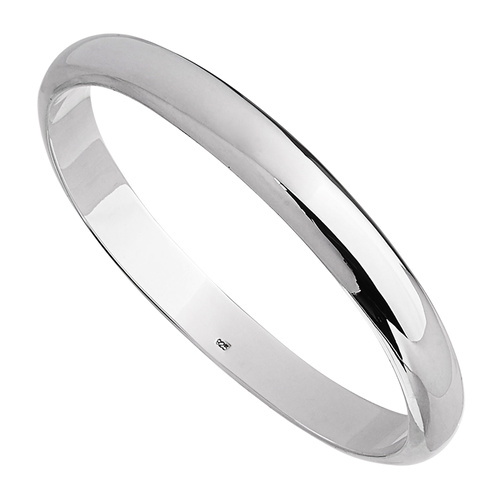 NAJO FAIRWAY 9MM STERLING SILVER BANGLE
