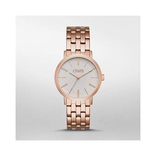 CHAPS WHITNEY ROSE GOLD TONE WATCH CHP3002