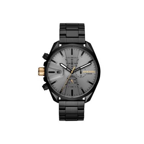 DIESEL CHRONO MS9 GUNMETAL WATCH