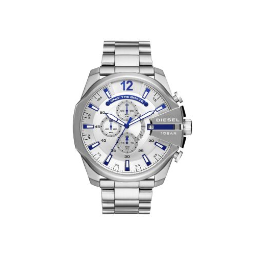 DIESEL STAINLESS STEEL MEGA CHIEF WATCH