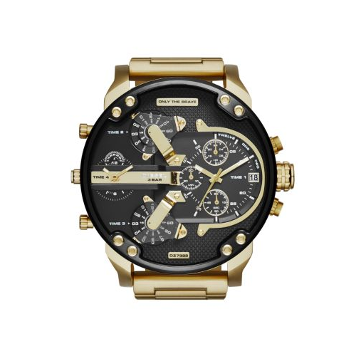 DIESEL YELLOW GOLD MR DADDY 2.0 WATCH