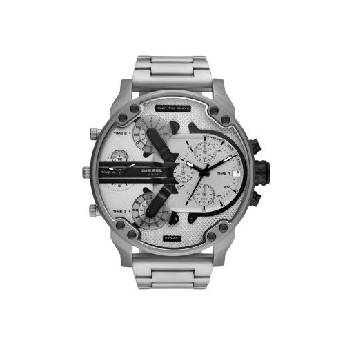 DIESEL MR DADDY STAINLESS STEEL WATCH