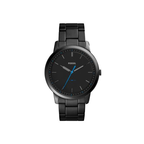 FOSSIL THE MINIMALIST BLACK SLIM STAINLESS STEEL WATCH