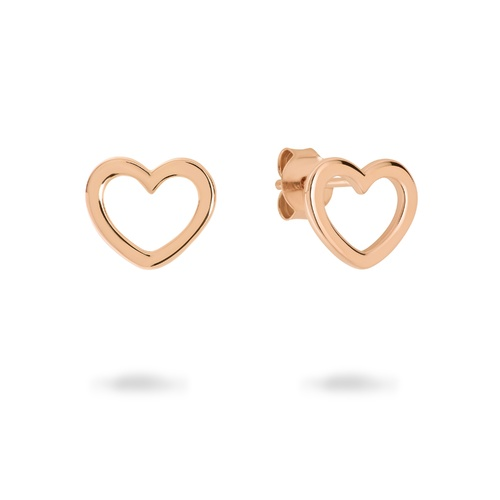 GEORGINI BOND ROSE GOLD EARRINGS