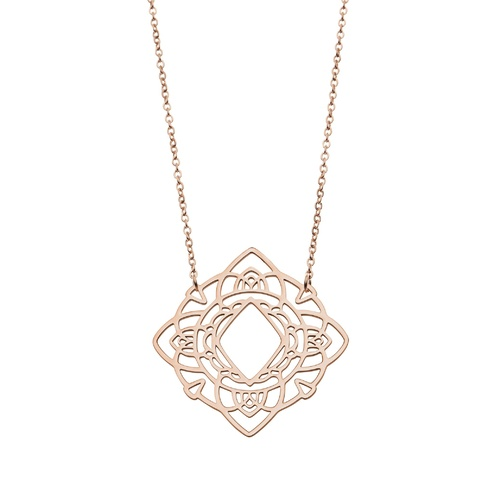 PASTICHE ROSE GOLD HAZEL NECKLACE