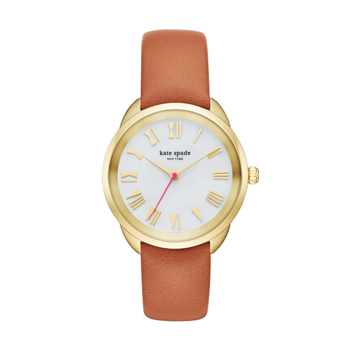 KATE SPADE CROSSTOWN BROWN LEATHER