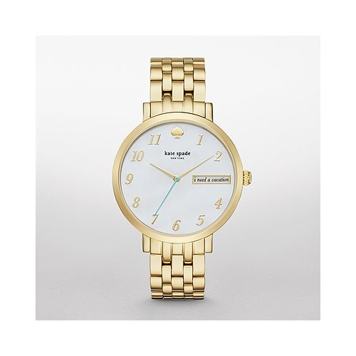 KATE SPADE NEW YORK MONTEREY GOLD-TONE WATCH KSW1106
