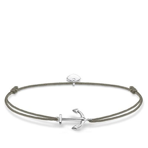 THOMAS SABO LITTLE SECRETS GREY ANCHOR BRACELET