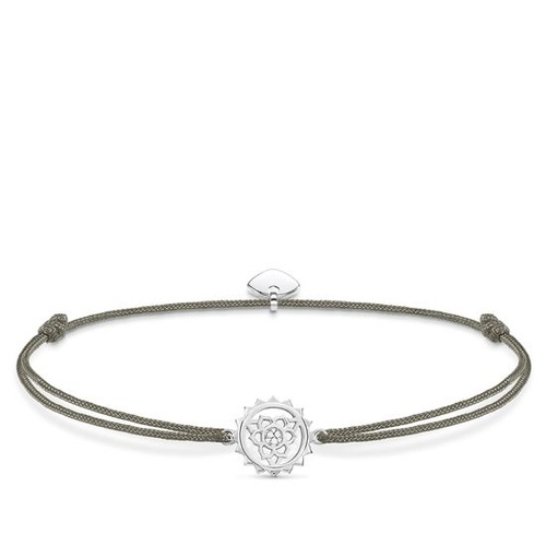 THOMAS SABO LITTLE SECRETS GREY MINI CHAKRA BRACELET