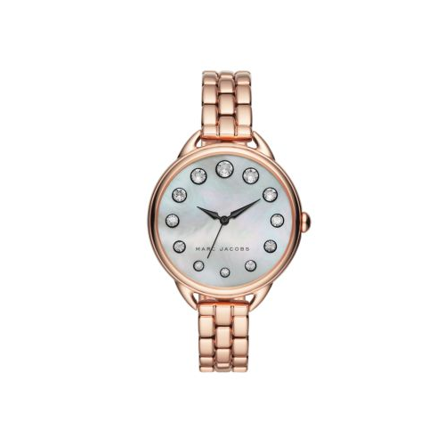 MARC JACOBS ROSE GOLD STAINLESS STEEL BETTY