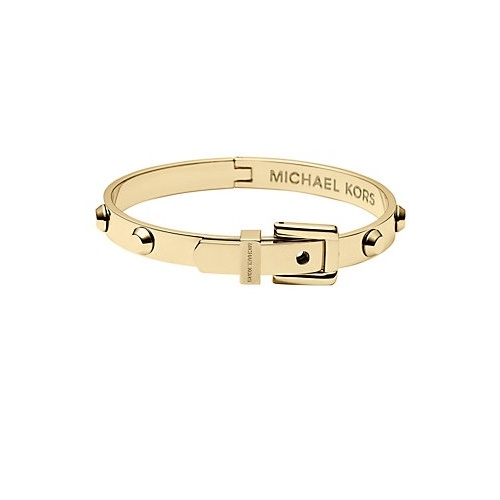 MICHAEL KORS GOLD BUCKLE BANGLE