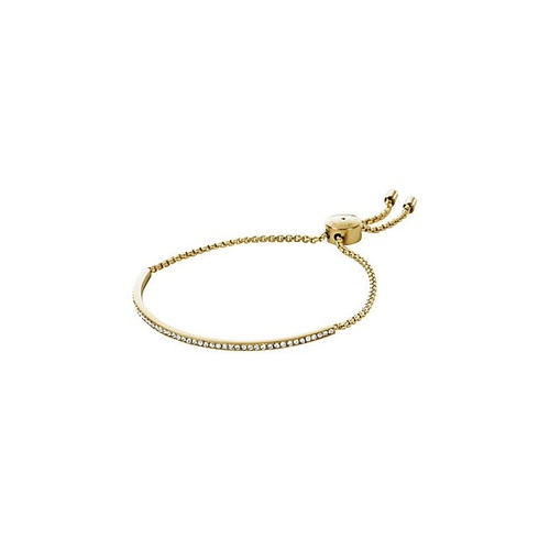 MICHAEL KORS GOLD BAR SLIDE BRACELET