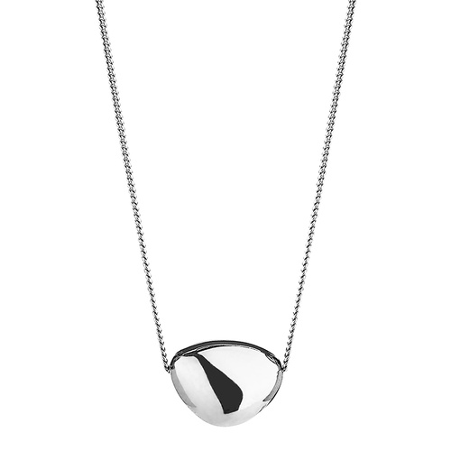 NAJO PIEDRA SINGLE PEBBLE NECKLACE