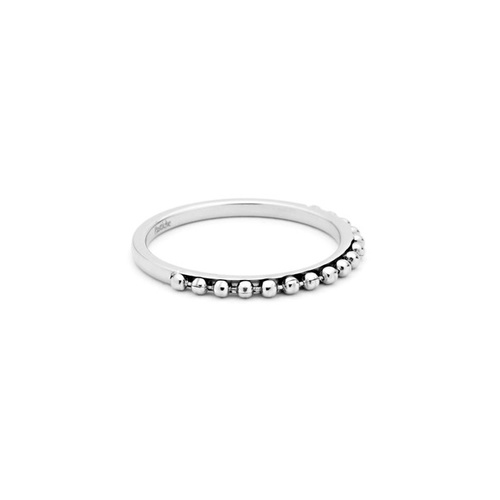 PASTICHE STAINLESS STEEL DOT RING