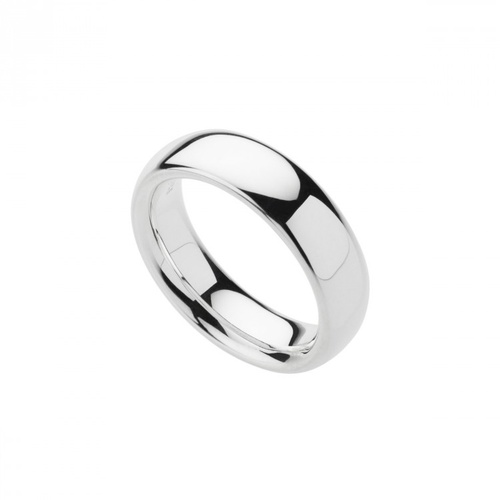NAJO STERLING SILVER HOLLOW COMFORT BAND RING