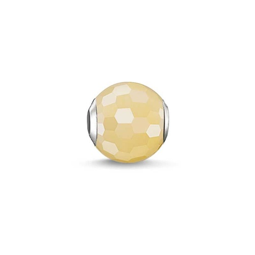 THOMAS SABO AVENTURINE YELLOW KARMA BEAD